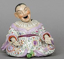 A 19th century Chinese porcelain nodding figure Ty
