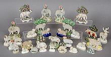 A collection of 19th century Staffordshire ceramic