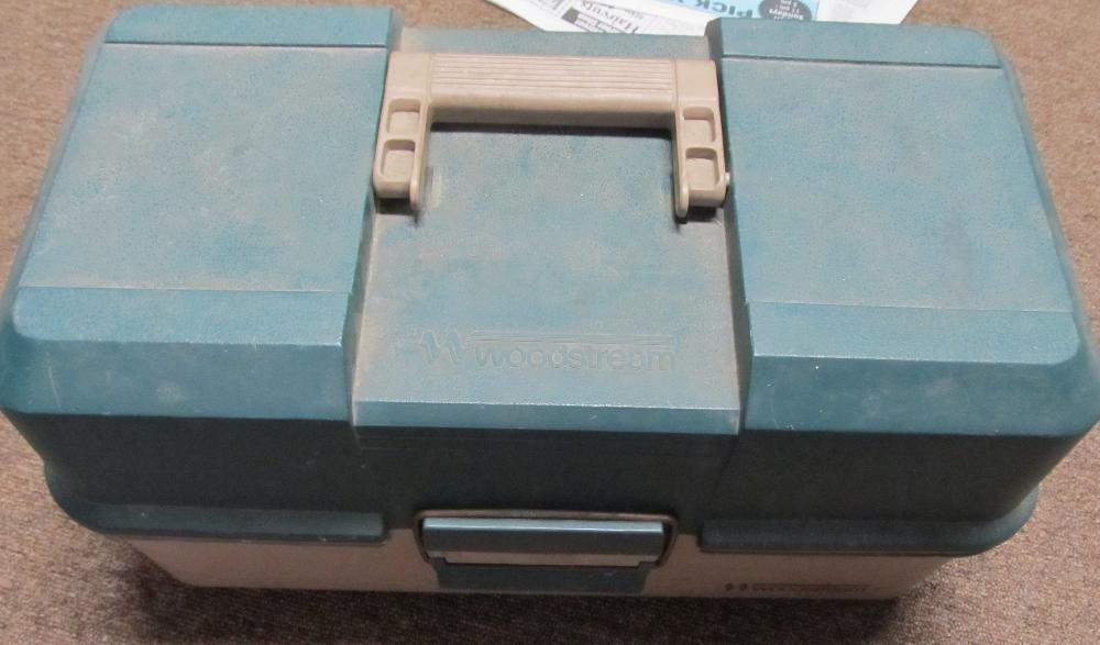 Fishing Box with Tackle