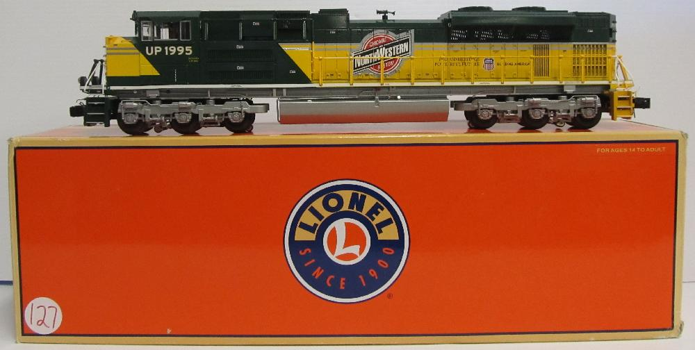 Lionel Union Pacific Heritage Chicago & Northwestern SD-70ACE Diesel Locomotive