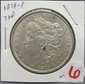 1878-P Morgan Dollar 7TF