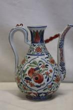 A Wucai Porcelain Ewer