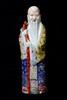 A porcelain Longevity Buddha