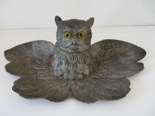 Jennings Brothers Figural Owl Inkwell