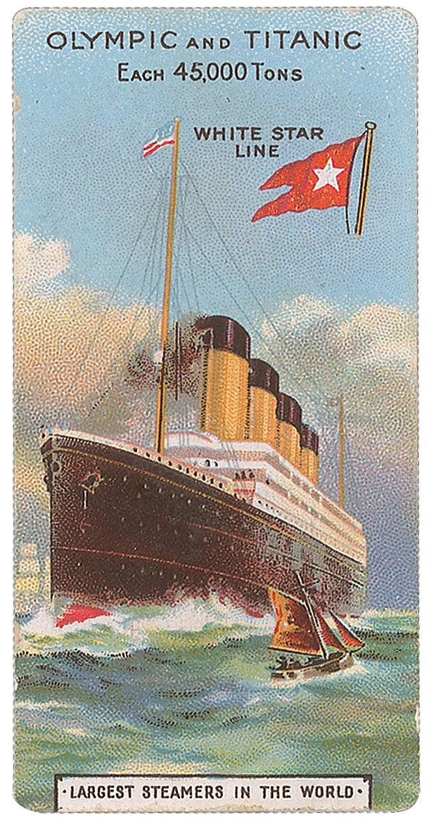 Olympic and Titanic Ad