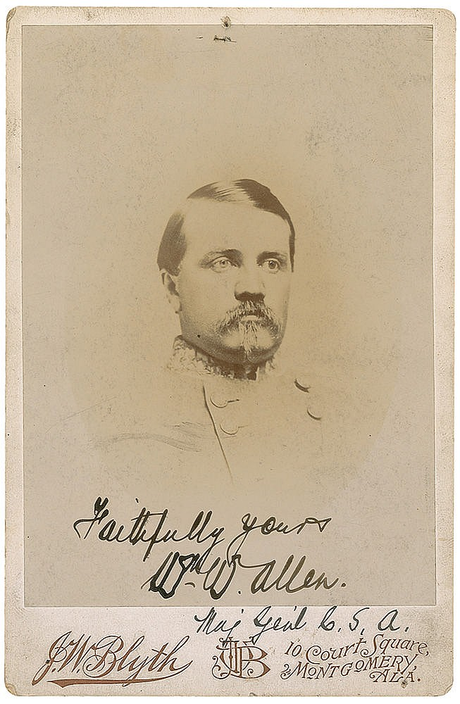Autograph -  William W. Allen