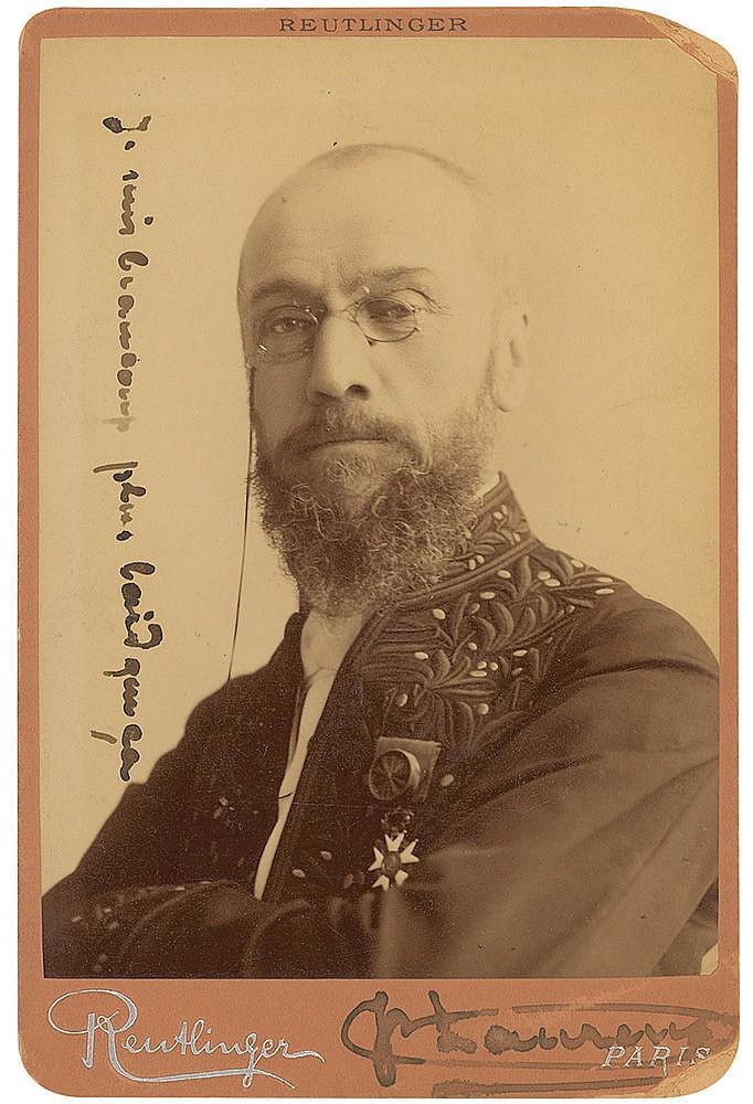 Autograph -  Jean-Paul Laurens