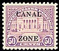 United States Possessions : Canal Zone, 1928, 50¢