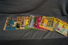 21 ISSUES HARVEY COMICS 1960'S
