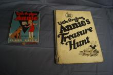 LITTLE ORPHAN ANNIE RUMMY CARD GAME AND TREASURE MAP