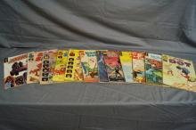 LOT OF HARVEY AND GOLD KEY COMICS 1960'S AND 1970'S