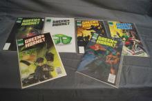 GREEN HORNET #'S 1 THRU 5 AND 7
