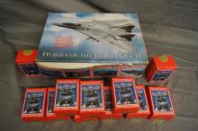 HEROES PERSIAN GULF CARDS WITH DISPLAY BOX