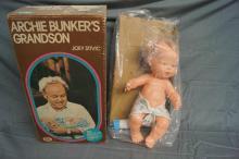 ARCHIE BUNKER GRANDSON DOLL IN BOX