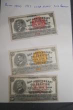 1933 BARNUM AND BAILEY ORIGINAL SCRIP NOTES