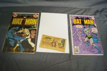 3 BATMAN COMICS KELLOGG 1966 PLUS #'S 243, 283
