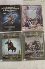 4 DUNGEONS  & DRAGONS BOOKS !!!! WE SHIP WORLD WIDE !!!!