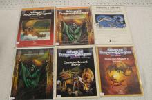 6 DUNGEONS & DRAGONS GAME GUIDE BOOKS !!!! WE SHIP WORLD WIDE !!!!