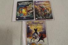 3 DUNGEONS & DRAGONS BOOKS !!!! WE SHIP WORLD WIDE !!!