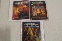 3 DUNGEONS & DRAGONS BOOKS !!!! WE SHIP WORLD WIDE !!!!