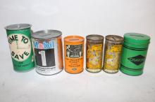 LOT OF 6 ADVERTISING BANKS !!!! WE SHIP WORLD WIDE !!!!