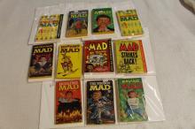 10 MAD BOOKS !!!! WE SHIP WORLD WIDE !!!!