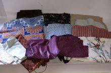 Lot of Vintage Fabrics
