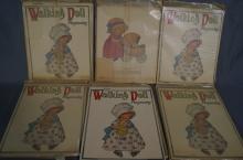 Walking Doll Playmates paper dolls