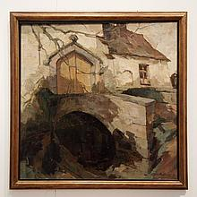 Barthelemy Camille (1890-1961): Huile sur toile,