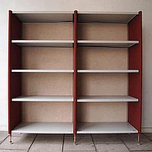 Knoll Office :  Bibliothèque modulable design vers 1980,