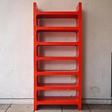 Jo Je Bins / Vardani design :  Bibliothèque modulable vers 1970,