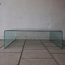 Boontje Tord / Fiam :  Table basse design vers 2000,