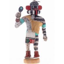 Hopi Left Hand Kachina Doll By Tewanema
