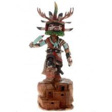 Hopi Deer Kachina Doll By Native American Milton Howard