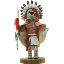 Hopi Germ God Kachina Doll Large Collectible 1984