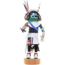 Hopi Clown Kachina Doll Old Style Harvester By Richard Mase