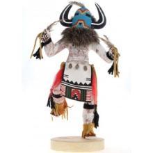 Spiritual Chief Kachina Doll Navajo Handmade