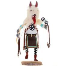 White Wolf Kachina Doll Handmade By Navajo Begay 1980's