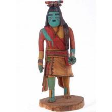 Tewa Flute Kachina Doll By Hopi Ivan Jackson