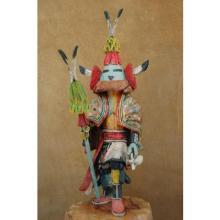 Chief's Lieutenant Hopi Kachina Doll Milton Howard
