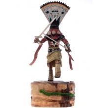 Hopi Dancer Kachina Doll Apache Crown Healer