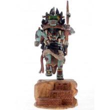 Hopi Ahote Kachina Doll by Milton Howard