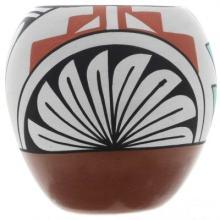 Jemez Pueblo Polychrome Pottery Collectible By Marie Tosa 12/90