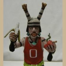 Hopi Contemporary Clown (Hano) Kachina - Native American Kachina, Hopi Kachina