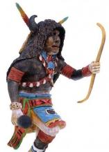 Hopi Buffalo Kachina Doll By Artist Keith Torres