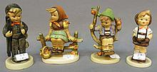 LOT OF FOUR HUMMEL FIGURINES