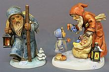 LOT OF TWO HUMMEL FIGURINES