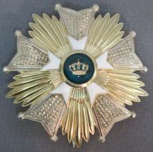 BELGIAN ORDER OF THE CROWN 'GRAND OFFICER'S STAR'