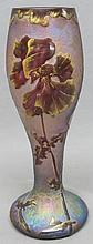 FRENCH/BELGIAN IRIDESCENT ART GLASS VASE
