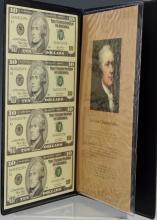 World Reserve Monetary Exchange Uncut $10 * Bills
